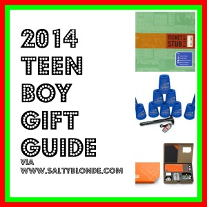 2014 Teen Boy Gift Guide