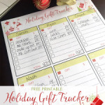 Holiday Gift Tracker