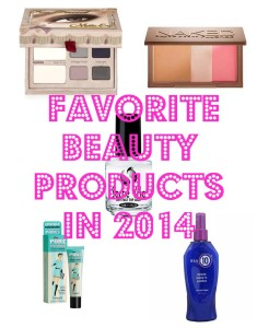 Salty Blonde's Fave Beauty Products of 2014