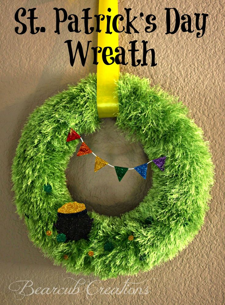 St Patricks Day Wreath Roundup