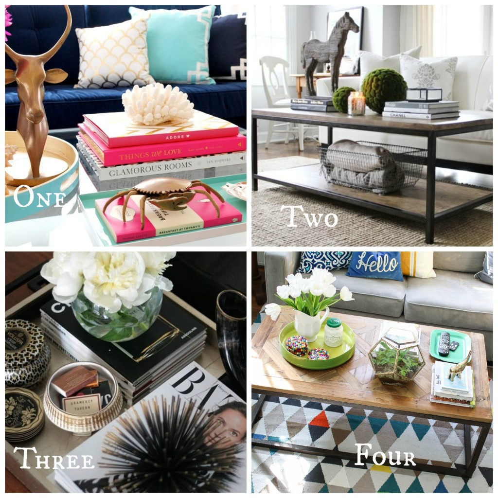 Coffee Table Styling Roundup