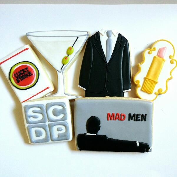 Mad Men Cookies