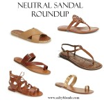 Neutral Sandal Roundup