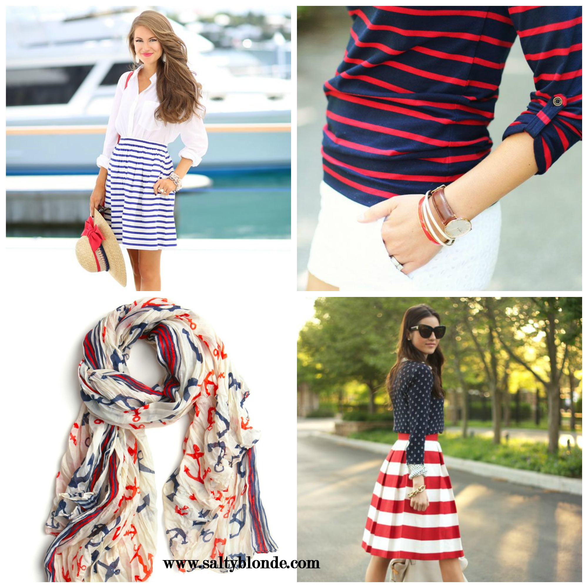 Salty Blonde's July Fourth Outfit Ideas