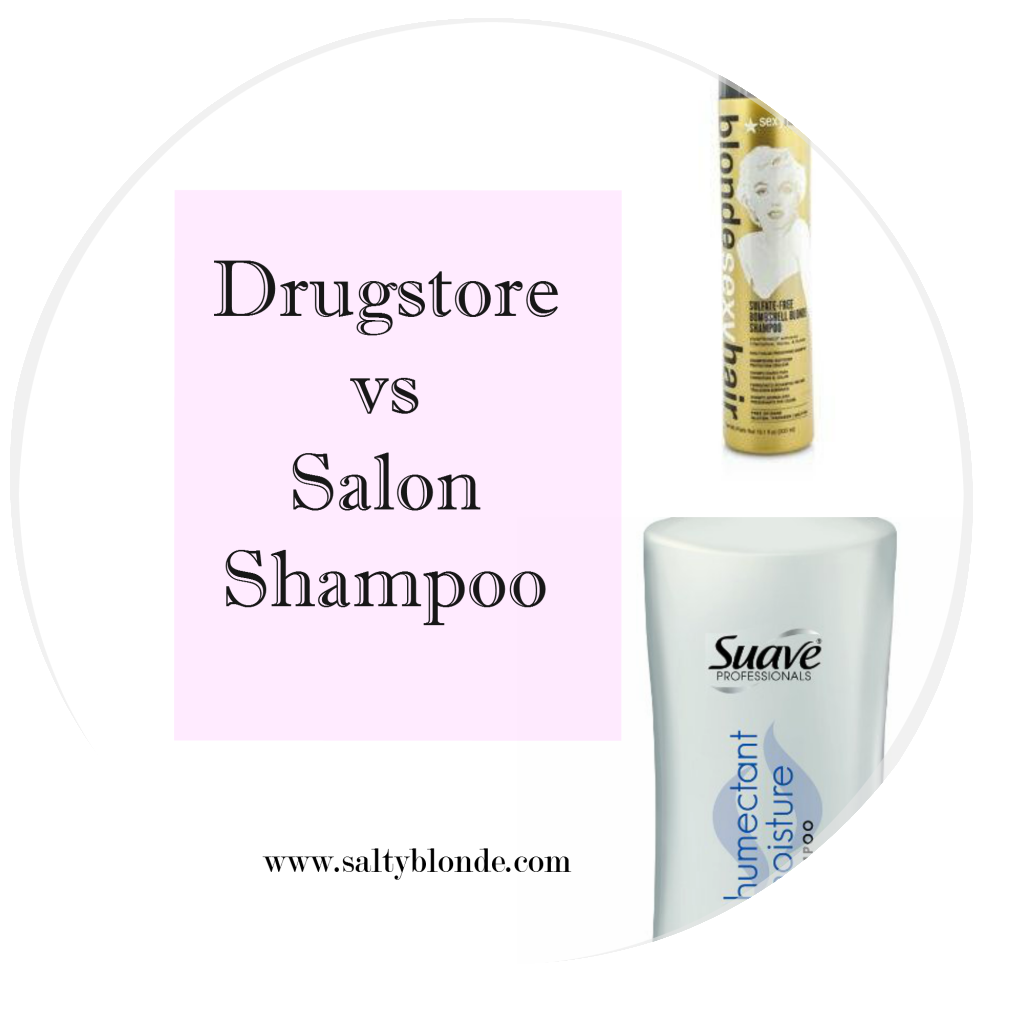 Drugstore vs Salon Shampoo