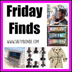 Friday Finds from SaltyBlonde.com