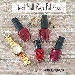 Best Fall Red Nail Polishes