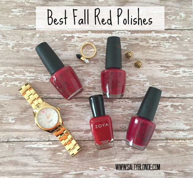 Best Fall Red Polishes