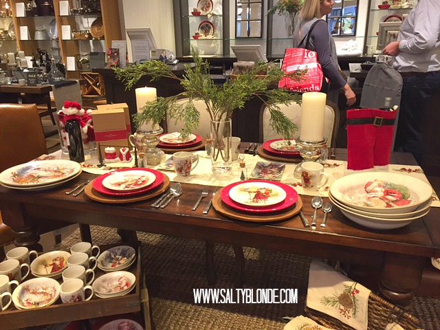 Xmas Tablescape