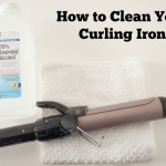Clean Your Curling Iron