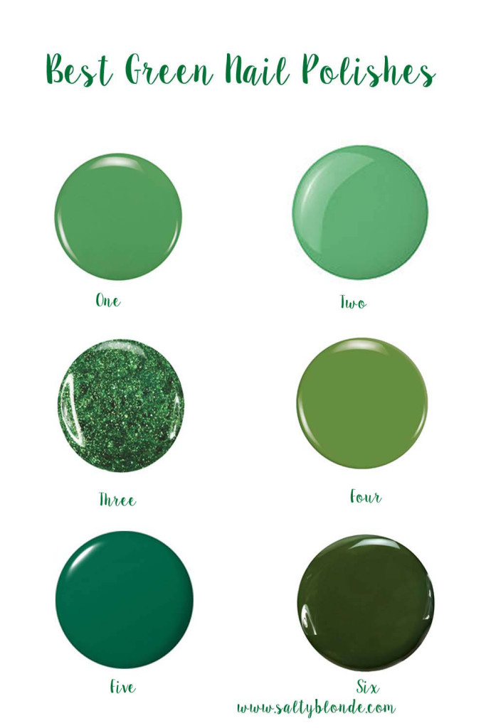Best Green Nail Polishes