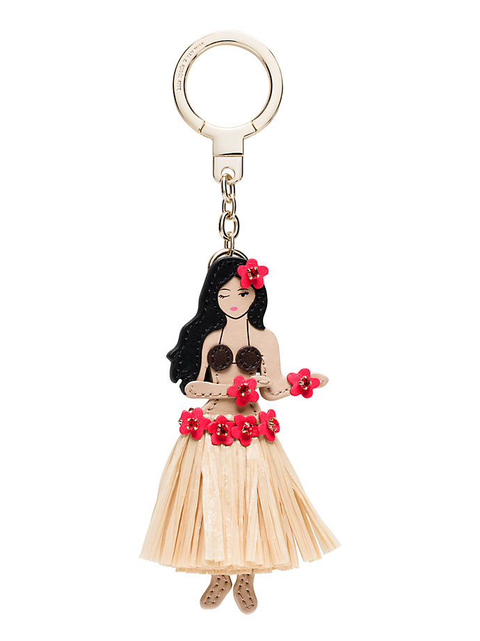 Kate Spade Hula Girl Key Chain