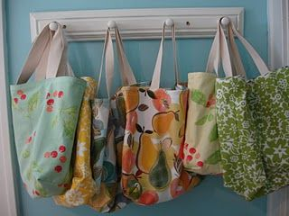 Tea Towel Totes