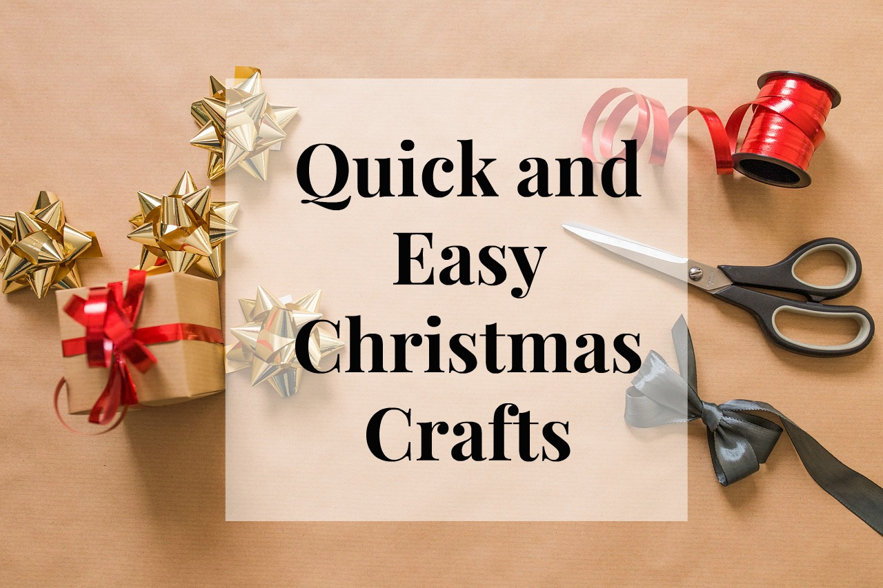 quick and easy christmas crafts salty blonde. Black Bedroom Furniture Sets. Home Design Ideas