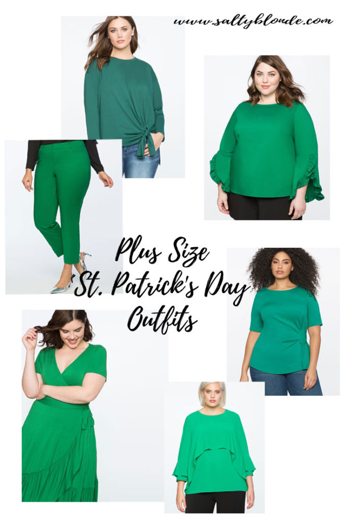 Plus Size St. Patrick's Day Outfits