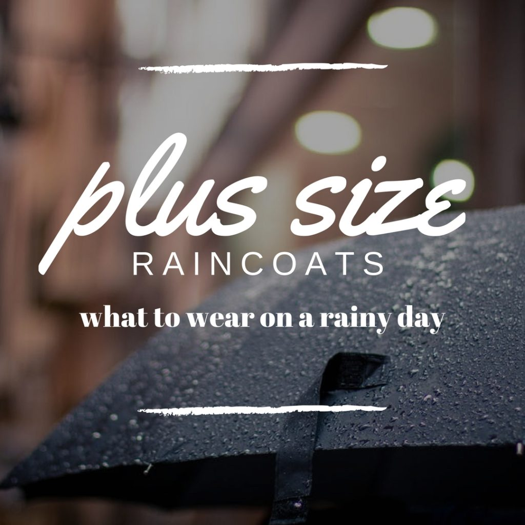 Plus Size Raincoats