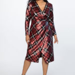 Plus Size Holiday Plaid Outfits