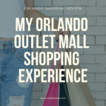 Orlando Outlet Mall Review