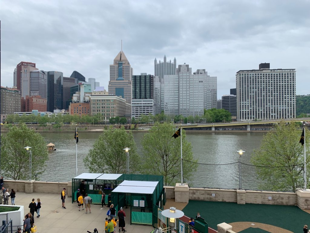PNC Park View of Pittsburgh